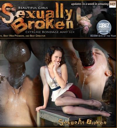 Girl next door, strict bondage, messy drooling brutal deepthroat!