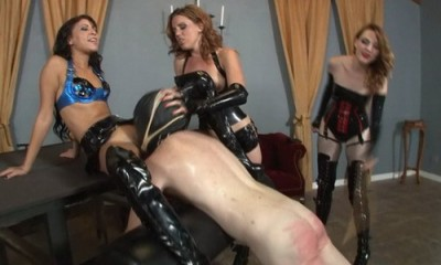 Face Fucked While Brutally Caned
