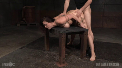 Lush Brunette Chanel Preston Tightly Tied In Rope Roughly Fucked, Worked Over (2016)