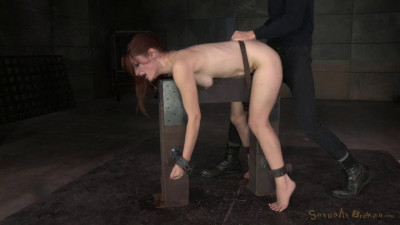 Redheaded Violet Monroe strictly shackled utterly destroyed hard cock! (2015)