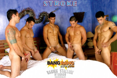 Stroke (uncut cocks, stallion studios, download).