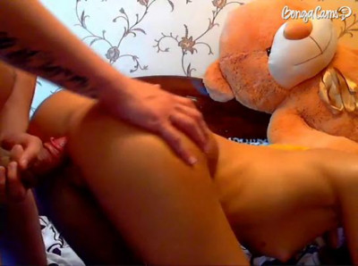 Bogdan  fucked Lena and cumshot in her mouth
