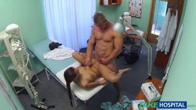 Fit Nurse Sucks And Fucks Body Builder