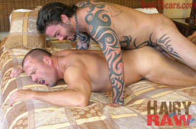 HairyAndRaw - Brock Hart and Rock Ramsey
