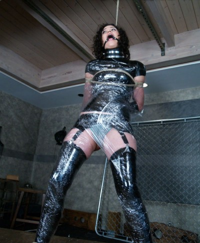 Shiny, Black Latex