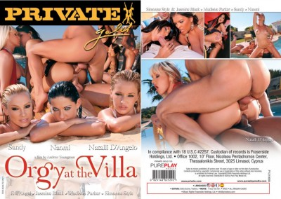 Private Gold 103 : Orgy At The Villa
