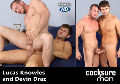Lucas Knowles and Devin Draz