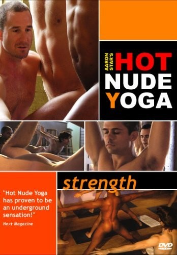 Aaron Stars Hot Nude Yoga - Strength