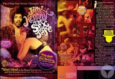 Description Jimi Hendrix Sex Tape (Vivid)