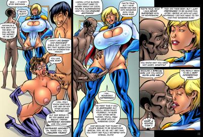 Superheroine Comixxx