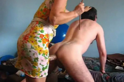 Mistress Fucks Mercilessly Male Whore