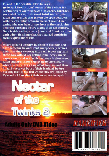 Nectar Of The Twinks 2 Bareback