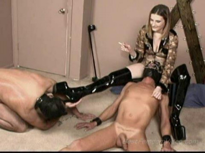 Mistress Lia's Bisex Domination