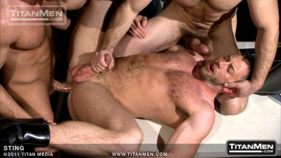 Dirk Caber, Shay Michaels, and Hunter Marx - Sting Scene 1