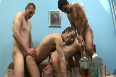 Little Guys Have Their Asses Torn Open In Sexy Gay Foursome