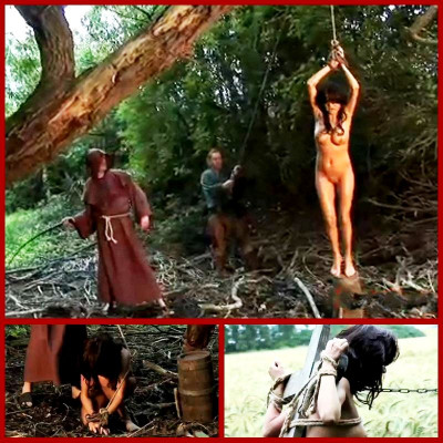 Gypsy Janessa Is Punished Outdoor Suspension & Spanking - BrutalDungeon
