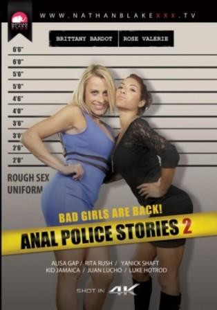 Alysa Gap, Brittany Bardot, Rita Rush, Rose Valerie — Anal Police Stories 2