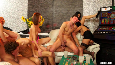 Bisexual Party Got Off To A Hardcore As Fuck Start