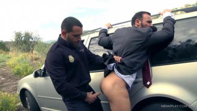 Police Corruption - Edu Boxer and Gabriel Vanderloo - city view gay.