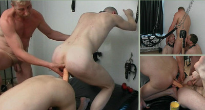 Doing Him With A Double Dildo
