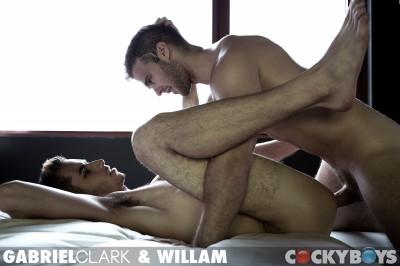 Gabriel Clark Fucks William