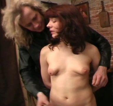 Brunette Captive Torment