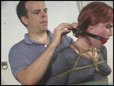 Amandas First Time in Bondage 1part - BDSM, Humiliation, Torture HD 720p