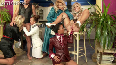 Frivolous Housewives - Mouthfuls Of Piss And A Sissy Dick To Fuck With(2014)