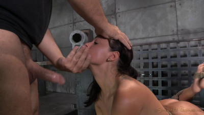 Ava Dalush Bound Down On Fucking Machine, Brutal Drooling Deepthroat Multiple Orgasms