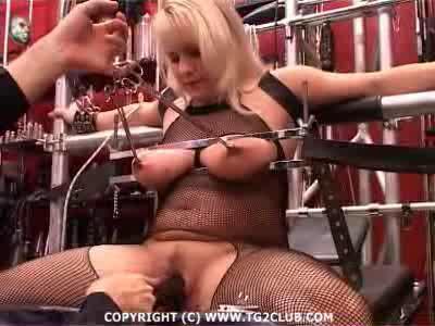 Blonde In Torture