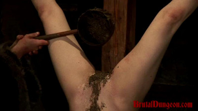 Witch Mathilda Endures Candle Wax Torment & Hot Mud Play Part 2 – BrutalDungeon