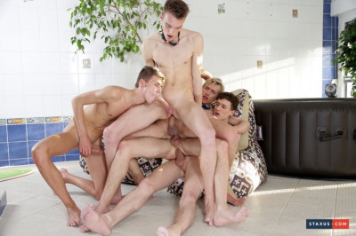 Scorchingly Hot Jacuzzi Threesome Turns