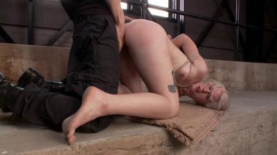 Young Slut takes 2 Massive Cocks