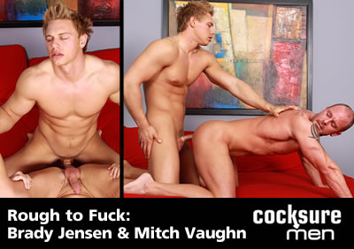 Rough to Fuck: Brady Jensen & Mitch Vaughn