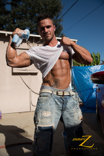 Ripped Car Wash (Joey van Damme)