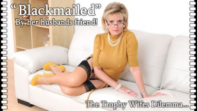 Lady Sonia Blackmailed By Her Husband Friend