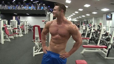 PumpingMuscle – Trevor M Photoshoot Part 1 – In The Gym