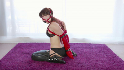 Restricted Senses – Mina Red & Black Leather