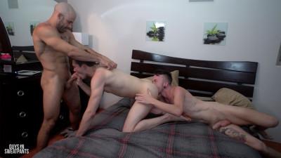 A three-way home video (Austin Wilde, Blake Lupo, Colton Casey)
