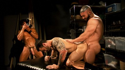 TitanMen Exclusives David Anthony and Francois Sagat with Junior Stellano - Incubus 2: The Final Cha