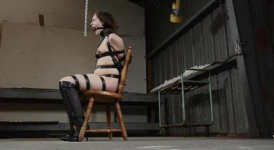 Tight Leather Bondage for Rachel — Part 1