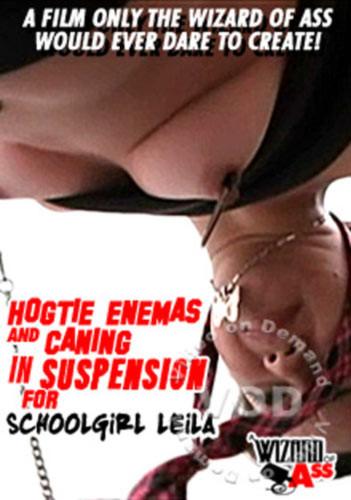 Hogtie Enemas And Caning In Suspension For Schoolgirl Leila