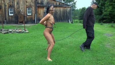 Obedient slave BDSM