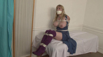 Bound and Gagged - Doctors Bind Helpless Patient Lorelei