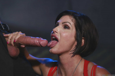 Pretty Milf In Red Dress Uses The Skills Of Temptation