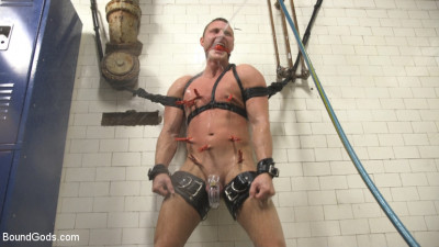 Straight Boy in the Locker Room is Abducted and Fucked!