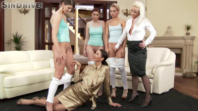 Cluster perverse lesbian