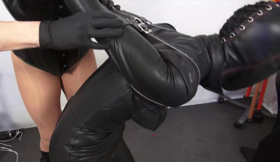 Mistress Miranda Leathering Elise Part 1