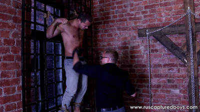 RusCapturedBoys - Punishment of Fighter Anton - Part I - 14.08.2015