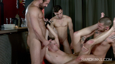 Hard Kinks — Hole For Three — Aday Traun, Dmitry Osten, Jessy Ares, Josh Milk